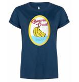 Blake Seven T-shirt 1106 banana crush blauw