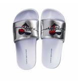 Tommy Hilfiger Heart print sandaal meisjes silver t3a0-30677-0632904