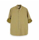 Scotch & Soda Scotch and soda check shirt geel