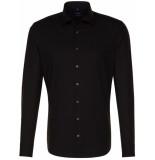 Seidensticker Heren overhemd poplin tailored fit