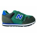 New Balance Sneakers 373 kids klittenband groen