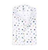 R2 Westbrook Overhemd stippenprint