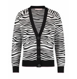 Studio Anneloes Imani zebra cardigan 04081