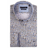 Giordano Ls button down 107014/20 geel