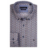 Giordano Ls button down 107032/20 geel
