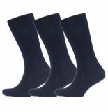Campbell 3 paar sokken-marine