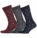 Campbell 3 paar sokken stippen