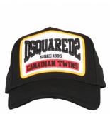 Dsquared2 Baseball cap zwart