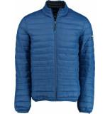 Bos Bright Blue Blue jaff short jacket 20101ja01sb/247 cobalt blauw