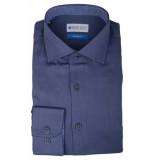 Bos Bright Blue Blue wesley shirt dressual 20106we45bo/290 navy blauw