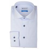 Bos Bright Blue Blue wesley shirt dressual 20106we46bo/210 l.blue licht blauw