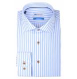 Bos Bright Blue Blue wesley shirt dressual 20106we59bo/210 l.blue licht blauw