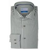 Bos Bright Blue Blue wesley shirt dressual 20106we60bo/364 jungle groen