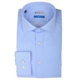 Bos Bright Blue Blue wesley shirt dressual 20106we47bo/210 l.blue licht blauw