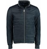 Bos Bright Blue Blue reno short jacket 20101re08sb/290 navy blauw