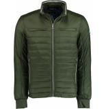 Bos Bright Blue Blue reno short jacket 20101re08sb/368 olive groen