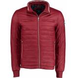 Bos Bright Blue Blue reno short jacket 20101re08sb/670 d.red bordeaux