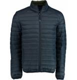Bos Bright Blue Blue jaff short jacket 20101ja01sb/290 navy blauw