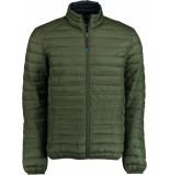 Bos Bright Blue Blue jaff short jacket 20101ja01sb/368 olive groen