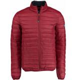 Bos Bright Blue Blue jaff short jacket 20101ja01sb/670 d.red bordeaux