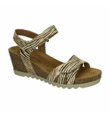 Gabor Slippers sandalen 045870 geel