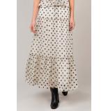 Summum 6s1145-11170 skirt tiered dot artisilk