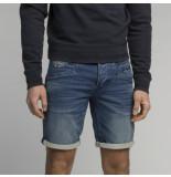 PME Legend Psh202760 bds curtis shorts blue denim sweat -