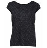 Geisha T-shirt 02029-60 kate zwart
