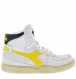 Diadora Sneakers mi basket used -geel wit