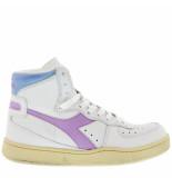 Diadora Sneakers mi basket used -paars wit