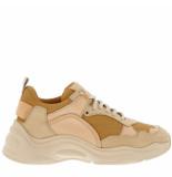 IRO Sneakers curve runner nude beige