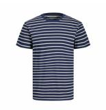 Jack & Jones 12164640 striped tee navy r jack jones