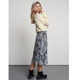 Catwalk Junkie 2002014214 zebra stripes 201 off white skirt