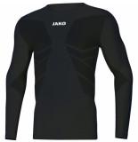 Jako Shirt comfort 2.0 6455-08 zwart