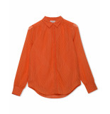 Another Label Blouse e41-220134 oranje
