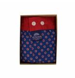 Mc Alson Boxershort blauw met rode stippen