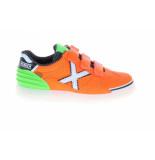 Munich 1514111 g-3 sneakers groen oranje