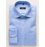 Eterna Heren overhemd effen fine oxford classic kent comfort fit