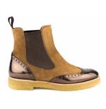 Pertini Chelsea boots cognac