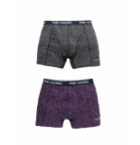 PME Legend Puw195100 4142 boxershort cotton elastan purple passion rood