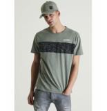 Chasin' 5211400091 jeremy t shirt print e51 groen