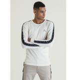 Chasin' 5111400038 t-shirt damian sport off white e11 ecru