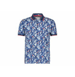 A Fish Named Fred 20.03.309 polo navy cactus navy blue - blauw