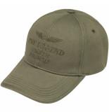 PME Legend Pac201901 6149 cap washed cotton twill deep lichen green groen