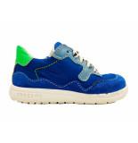 Shoesme Veterschoenen runflex blauw