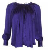 Forte_Forte Blouse 7251 paars- blauw