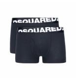 Dsquared2 Boxershort dual pack zwart