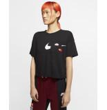 Nike Womens short-sleeve training cj3480-010 zwart