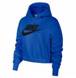 Nike Sportswear womens fleece hood cj2034-480 blauw