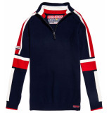 Superdry Downhill embossed henley